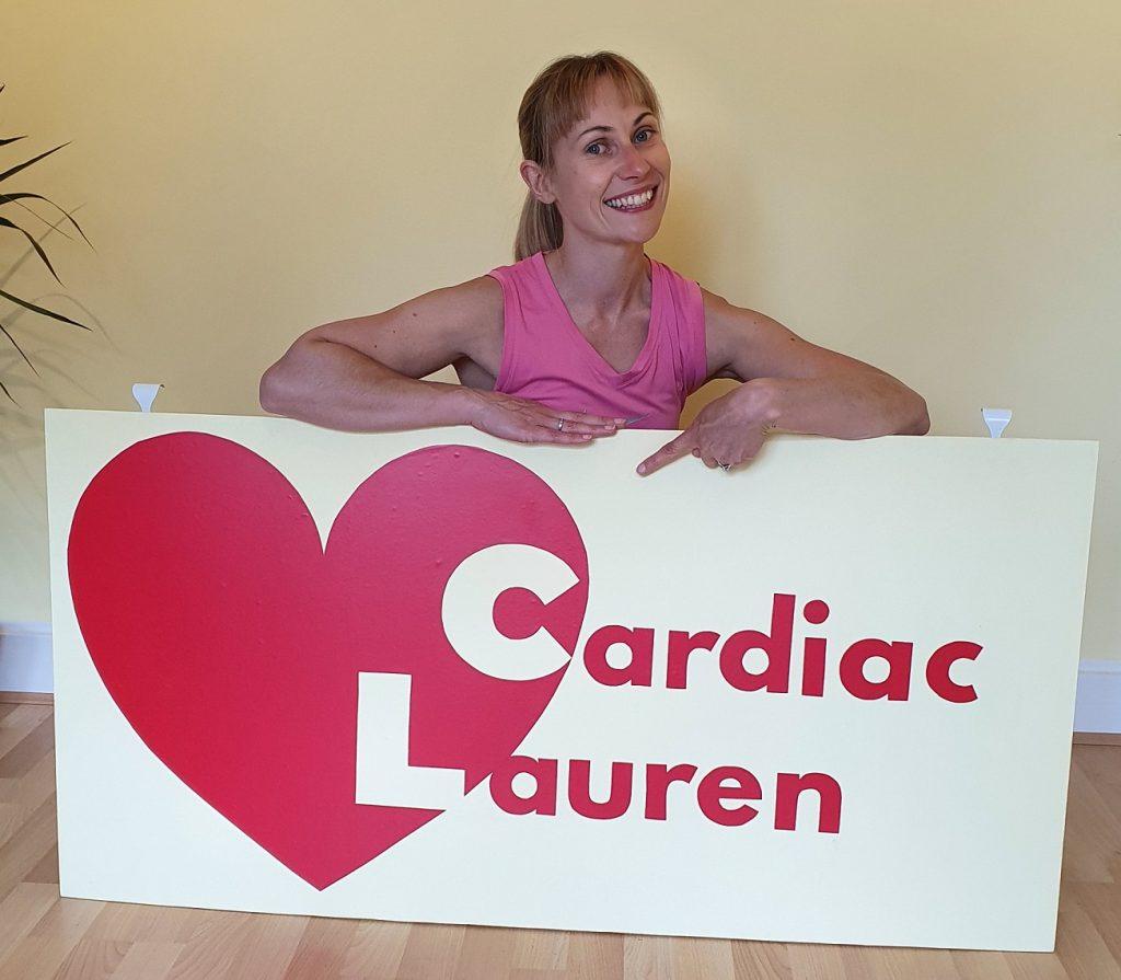 Cardiac Lauren Logo and Lauren